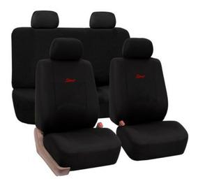 Fundas para asientos rojo//negro sp Toyota Yaris