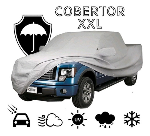 funda cubre auto cobertor antigranizo pick up xxl premium