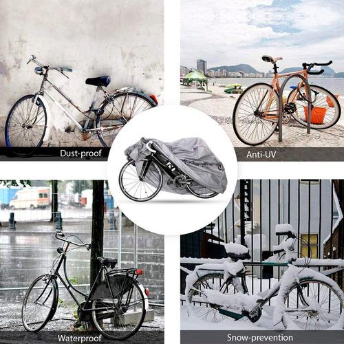funda cubre bicicleta lona impermeable anti polvo crazy fit
