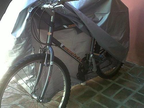 funda cubre bicicleta premium impermeable sol 2 mm espesor