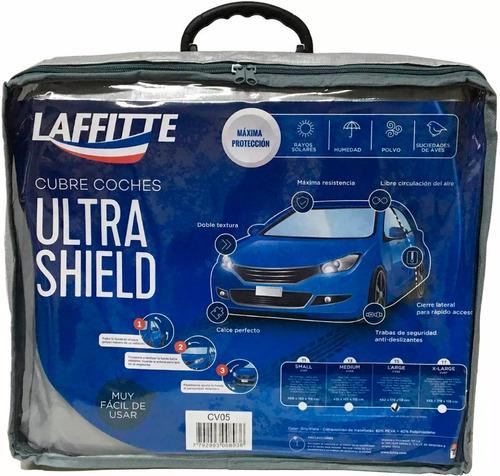 funda cubre coche impermeable afelpado ultra shield + bolso
