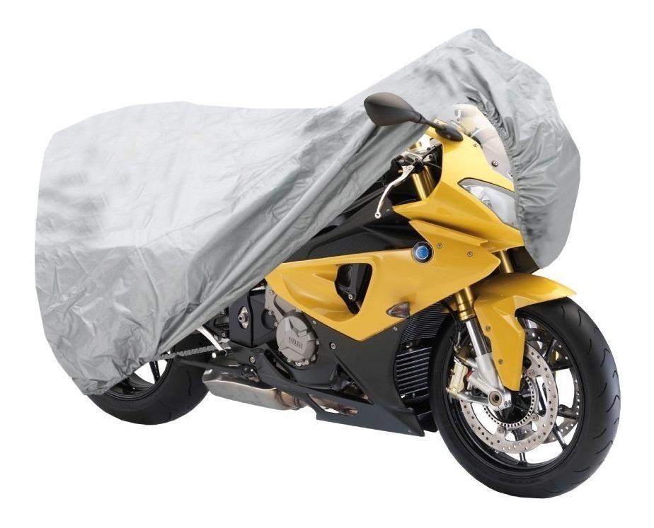 ae50b8be651 Funda Cubre Moto Impermeable Protección Uv + Correa Premium - $ 419 ...