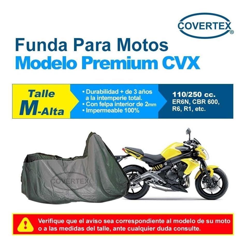 85b995e8145 Funda Cubre Moto Premium Impermeable Con Felpa M Alta - $ 3.500,00 ...