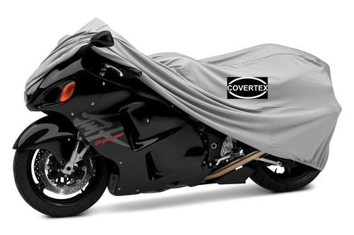 funda cubre moto premium tela gruesa impermeable con felpa