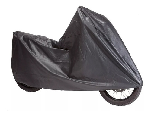 funda cubre moto universal grande lavable negro ajustable