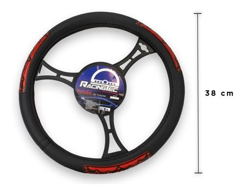 funda cubre volante mediano pvc varios diseños colores