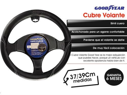 funda cubre volante p auto good year simil cuero acolchonado