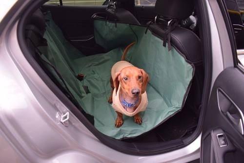 funda cubreasiento impermeable auto mascotas perros 2 plazas