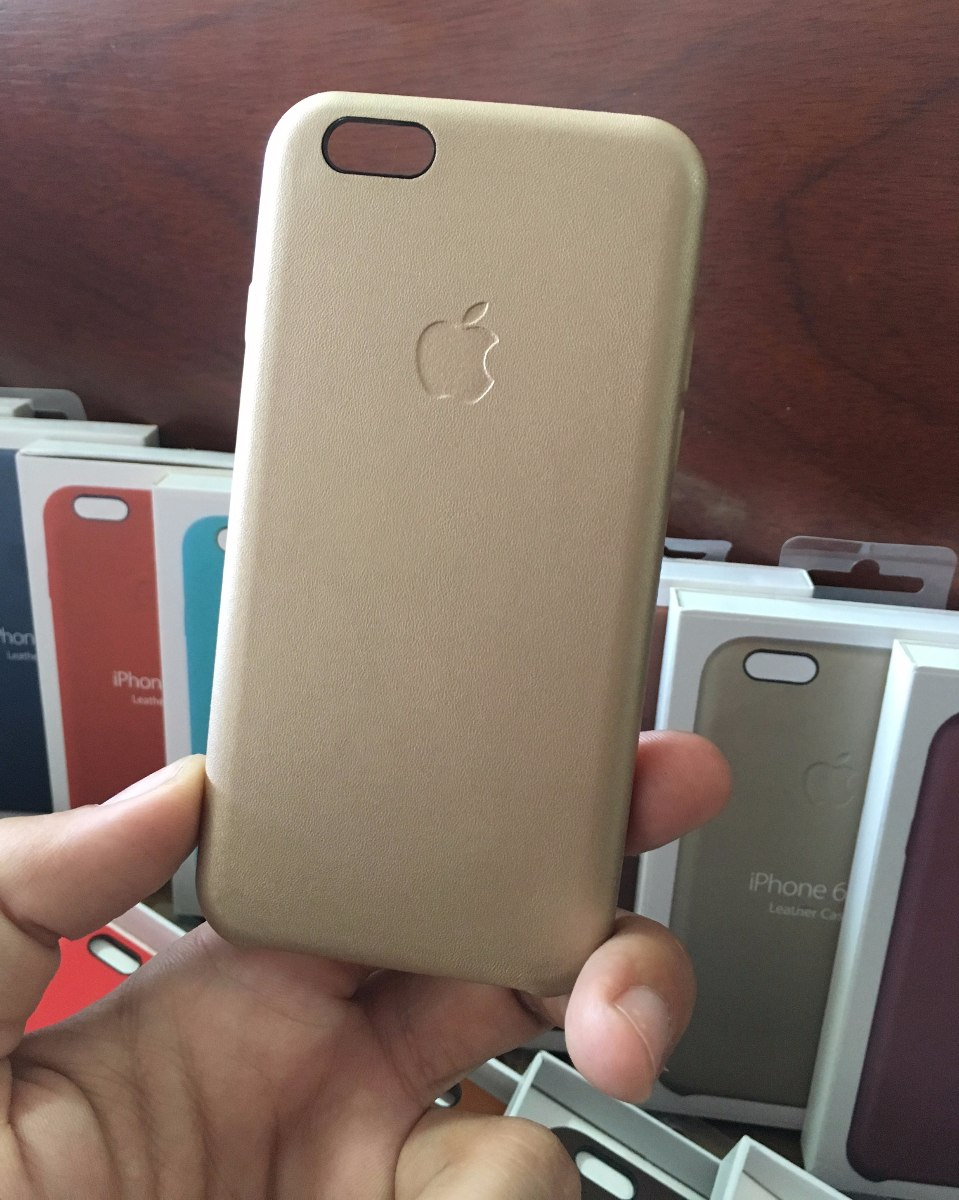 4e1dbe5b56b Funda Cuero iPhone 6 6s Apple Vidrio Templado 5d Azul - $ 800,00 en ...