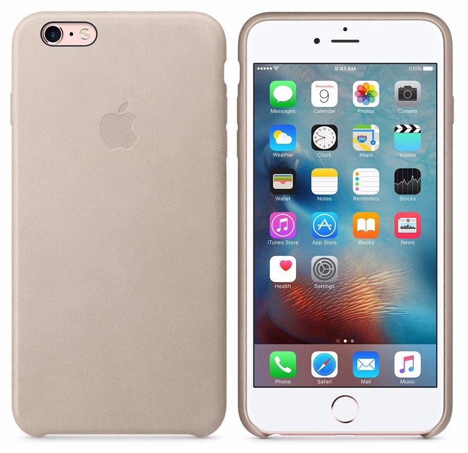 840691a10bd funda cuero original iphone 6 6s apple gorila glass beige. Cargando zoom.