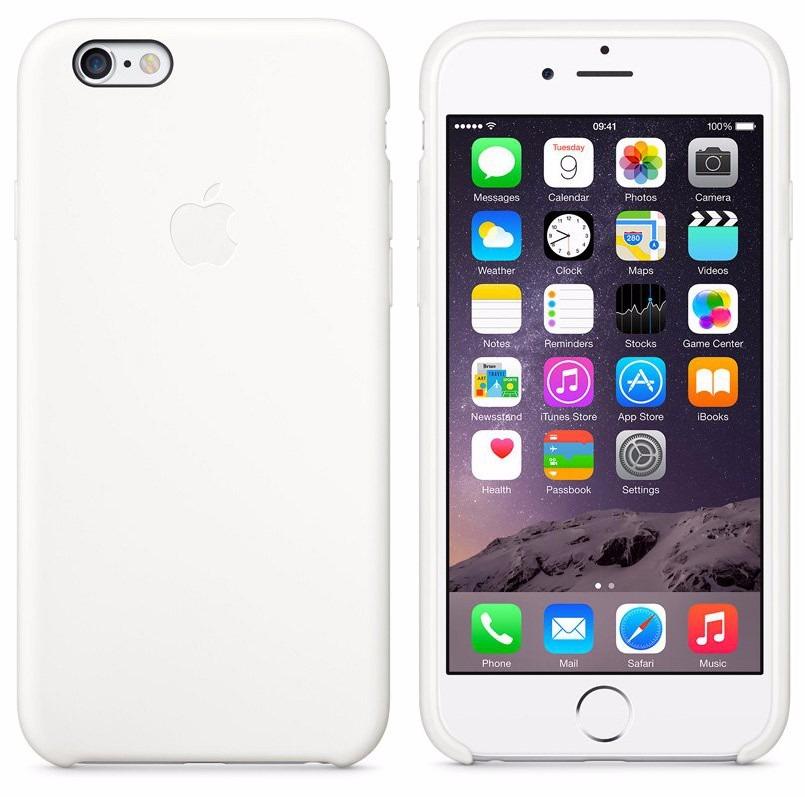 2fa01fbb8b8 funda cuero original iphone 6 6s apple gorila glass blanco. Cargando zoom.