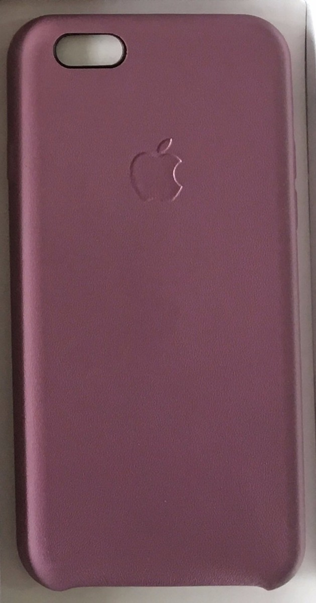 af0de61cf33 funda cuero original iphone 6 6s apple gorila glass rosa. Cargando zoom.