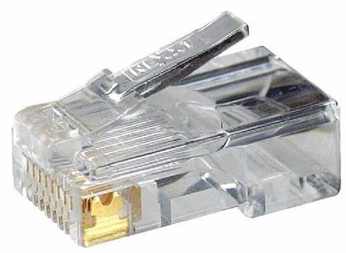 funda de 100 conectores rj45 cat5e nexxt