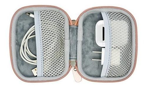 funda de almacenamiento y proteccion de viaje para airpods c