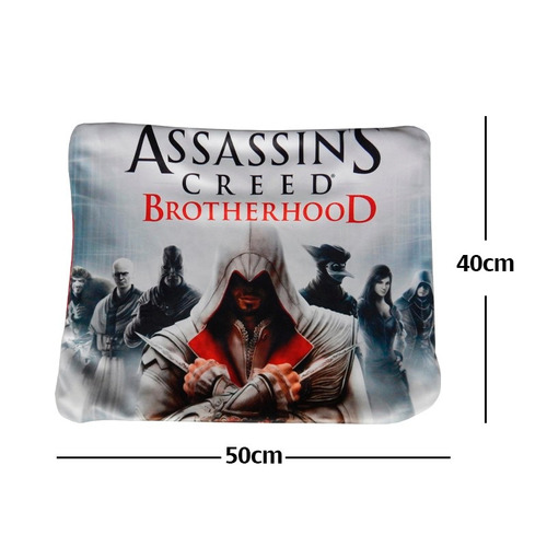 funda de almohada assasins creed brptherhood gran precio