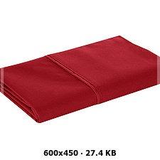 Funda De Almohada King Talla Rojo