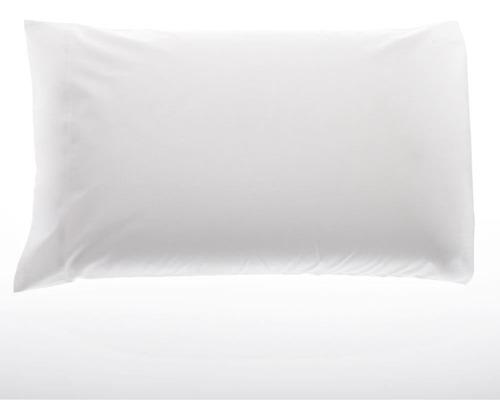 funda de almohada queen size 50 x 70 cm. arredo blanco