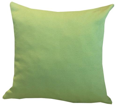 funda de almohadón 40x40 verde manzana dsc - dormire