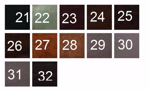 funda de almohadones para sillones eco cuero medida 50x50x10