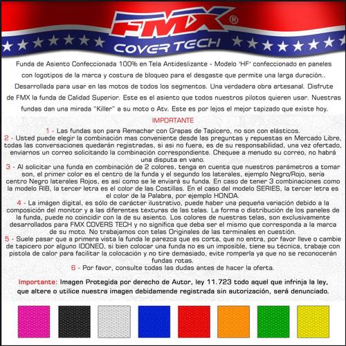 funda de asiento honda cr 125 cr 250 hf grip fmx covers