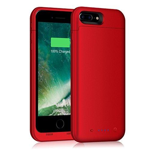 30d95e6dbe9 Funda De Batería iPhone 7 Plus 7000mah Capacidad De Carga De - $ 1,206.70 en  Mercado Libre