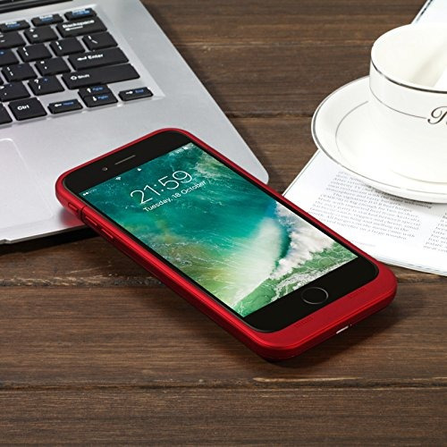 6f351b2258c Funda De Batería iPhone 7 Plus 7000mah Capacidad De Carga De ...