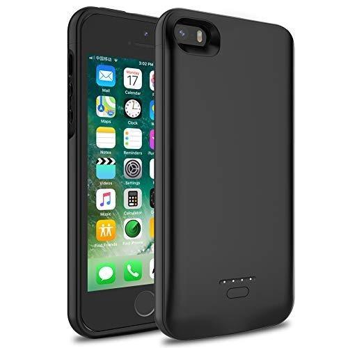 3253f4ca629 Funda De Batería Para iPhone 5 / 5s / Se, Wavypo Funda... - $ 46.990 en Mercado  Libre