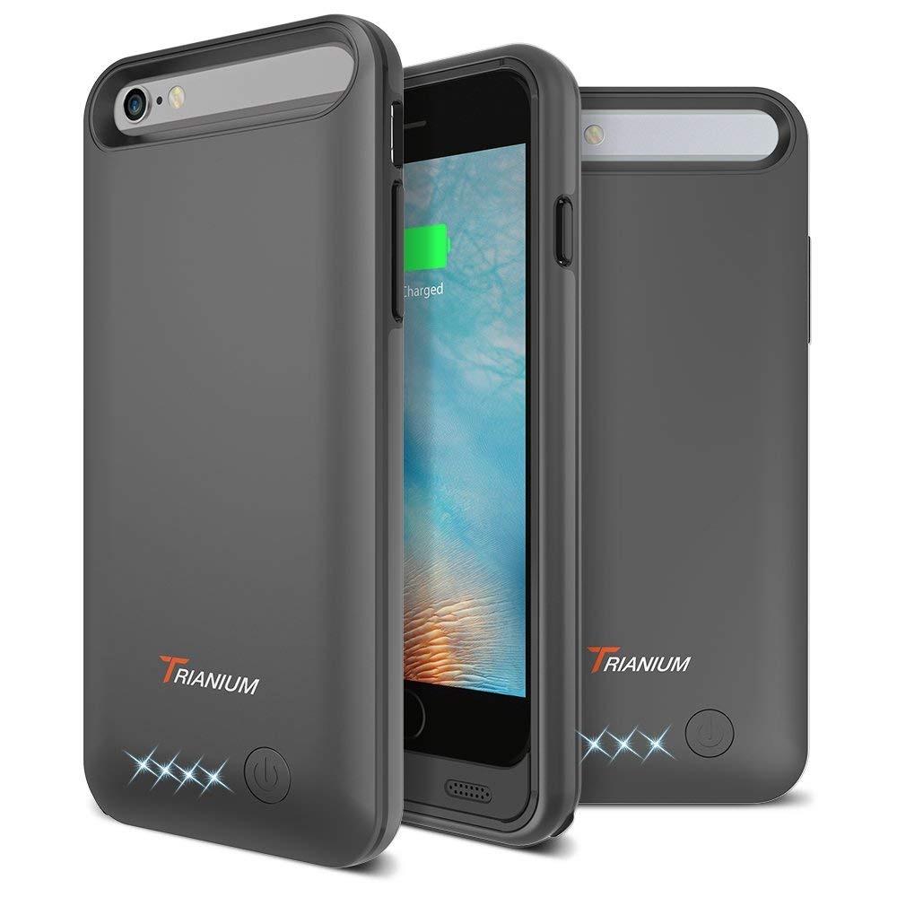 f212c8f9f7d Funda De Batería Para iPhone 6s / 6, Cargador Portátil Tri ...