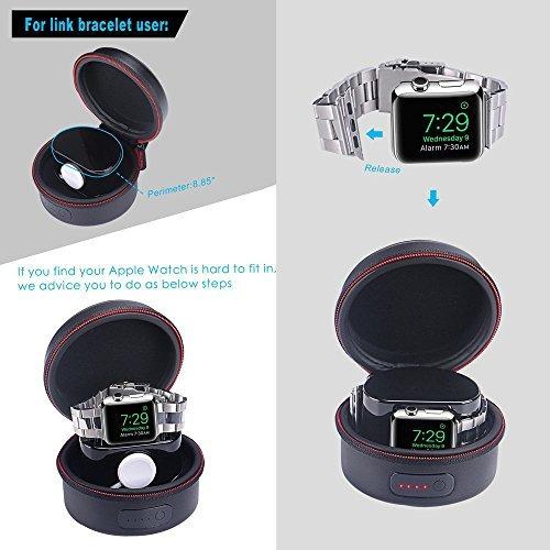 funda de carga para apple watch serie 1, serie 2 (no incluye