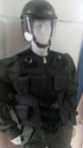 funda de chaleco antibalas policía gendarmeria prefectura