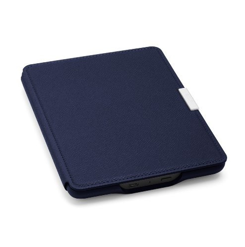 funda de cuero amazon kindle paperwhite, tinta azul - se ada