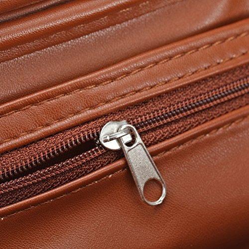 funda de cuero para tabaco scotte leather pipe para 2 pipas