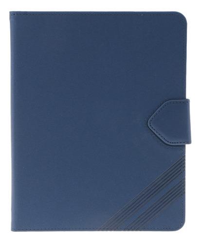 funda de cuero pu folio estande cubierta protector plegable