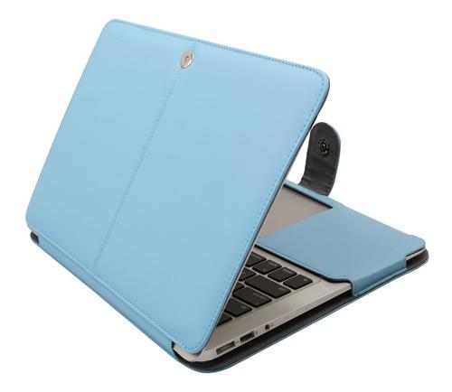 funda de cuero solo compatible con macbook air de 13 pulgada