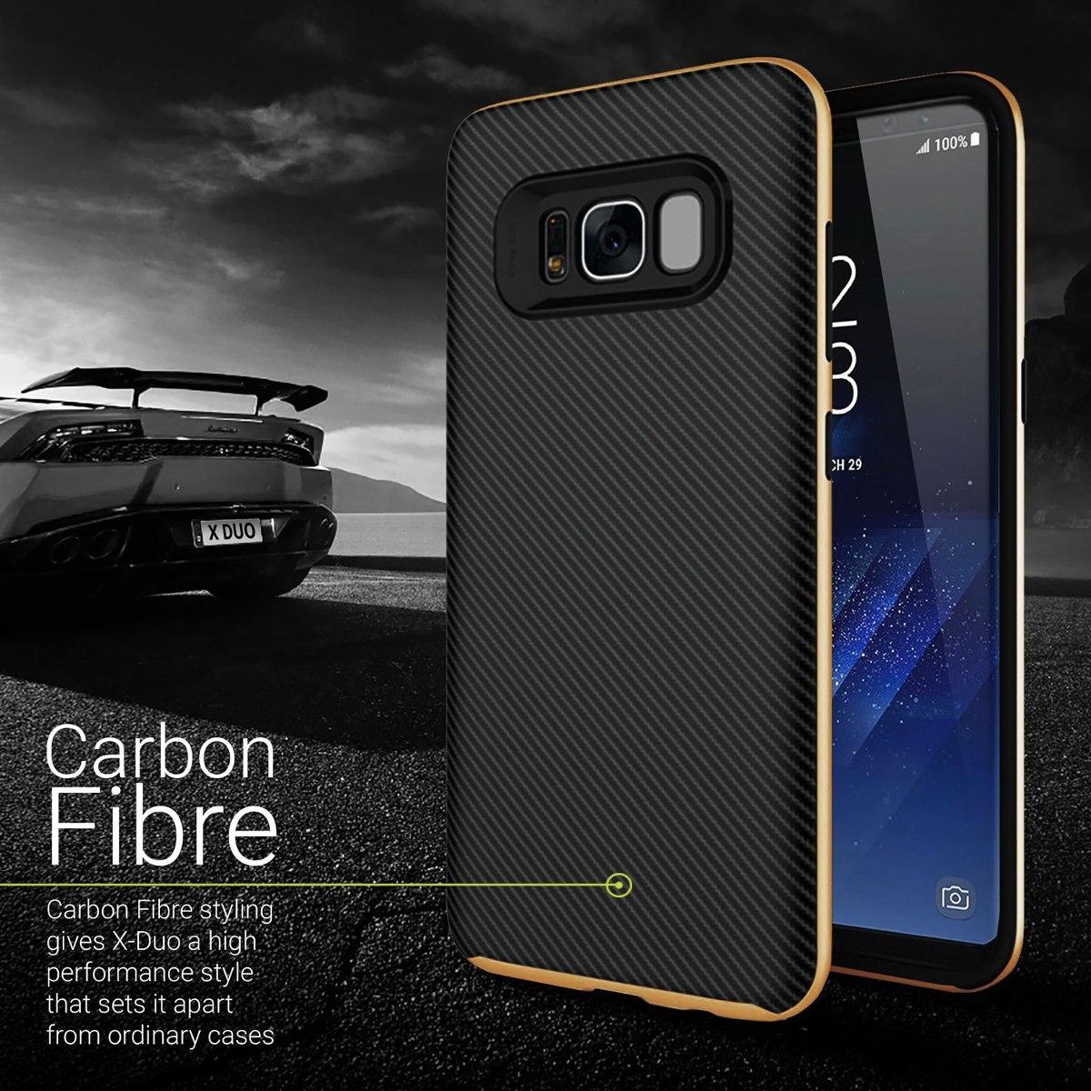 carcasa galaxy s8 fibra de carbono