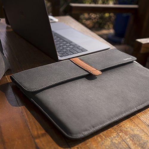 funda de laptop tomtoc + estuche p/macbook 13 pulgadas