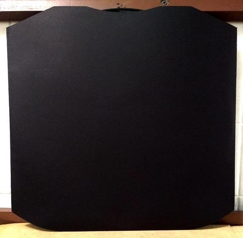 funda de lujo para discos de 12' en color negro.