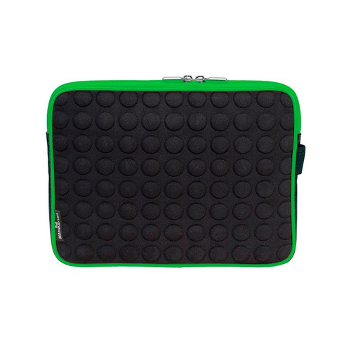 funda de neopreno para tablets 10  manhattan negro-verde