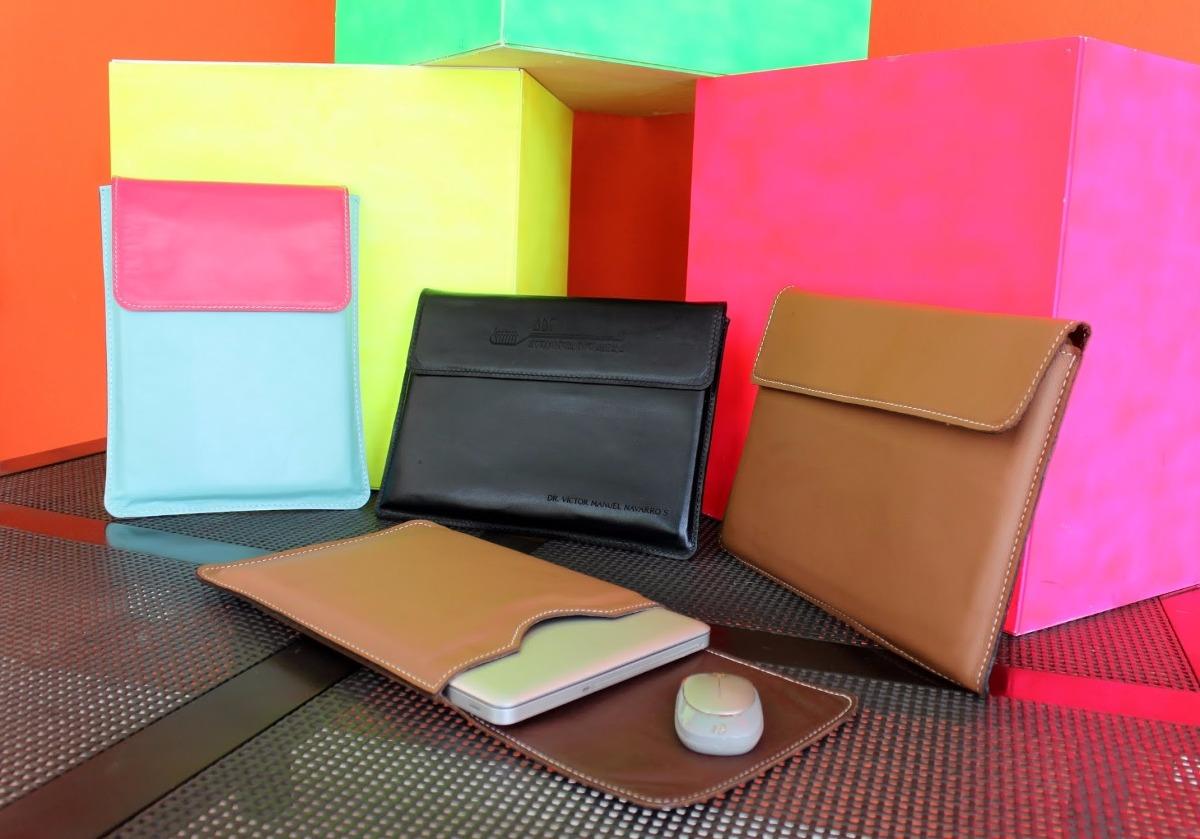 Funda de piel genuina y personalizada para laptop for Fundas notebook