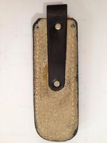 funda de piel para navaja o cuchillo