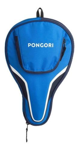 funda de raqueta de ping pong ttc 130 azul envio gratis