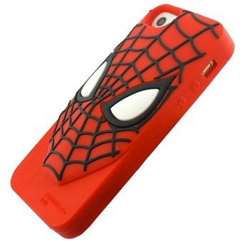 funda de silicon batman, spiderman, optimus iphone 6