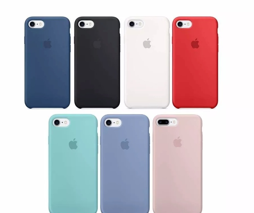 99f143f3d84 Funda De Silicon iPhone 8, 8 +, 7 7 Plus 6 6s, 6s+ X /e - $ 206.10 ...