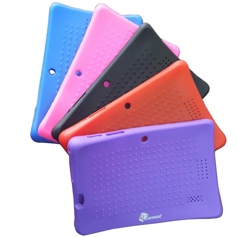 Funda de silicon uso rudo para tablet 7 pulgadas 5 colores en mercado libre - Fundas de tablet de 7 pulgadas ...