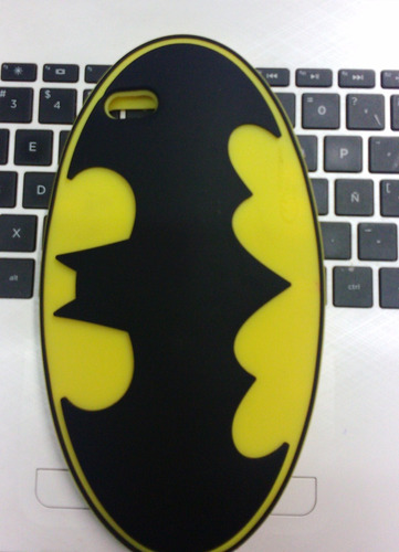 funda de silicona 3d para iphone 6 plus de batman