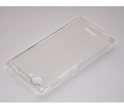 funda de silicona blu life one xl 5.5''  series transparente