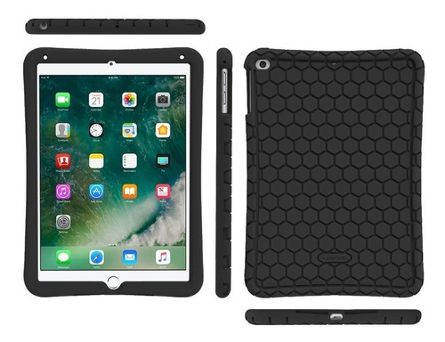 funda de silicona - fintie - ipad 9.7 2018/17 - ipad air / 2