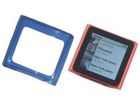 funda de silicona gel tpu para ipod nano 6g - nnv