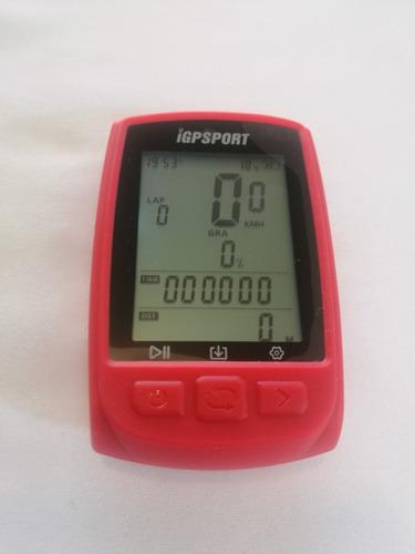 funda de silicona igpsport ciclocomputador igs50
