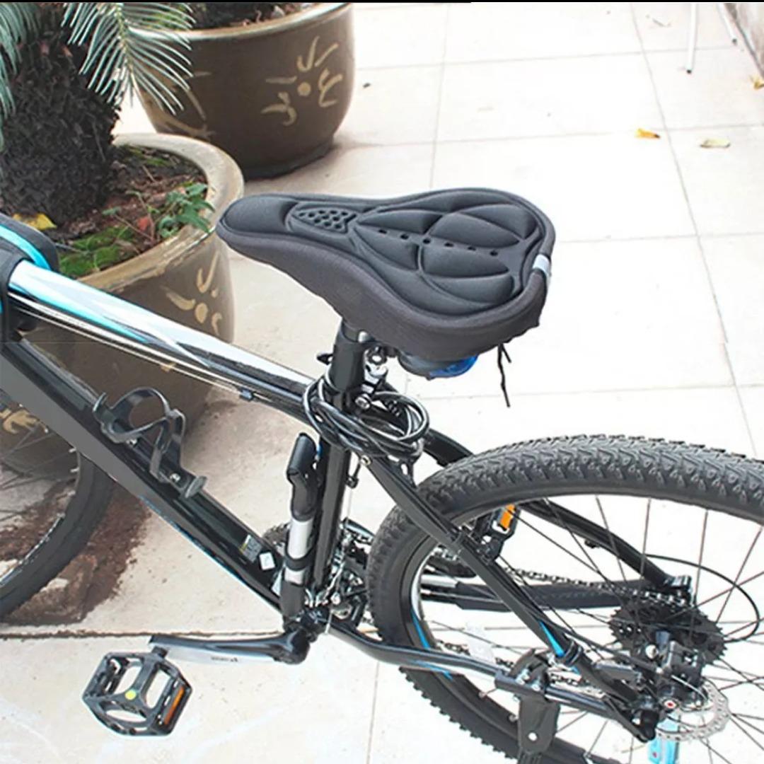 680ccccf221 funda de silicona para sillín de bicicleta. apto spinning! Cargando zoom.
